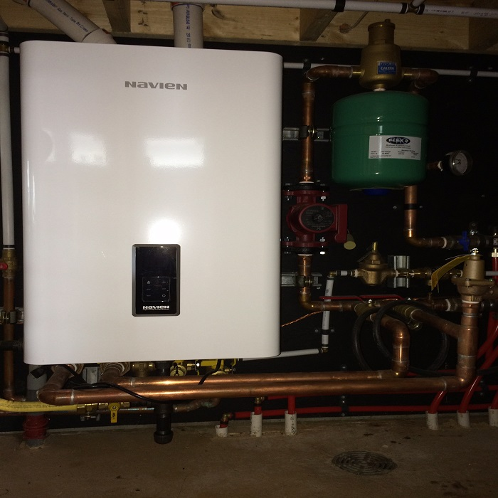 Tankless Hot Water Heating picture